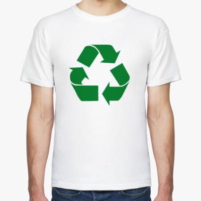 Футболка 'Recycle'