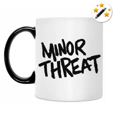 Кружка-хамелеон Minor threat