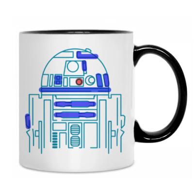Кружка Star Wars. R2D2