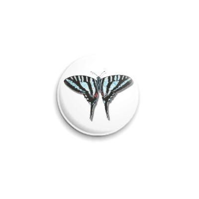 Значок 25мм Бабочка