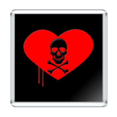 Магнит Love and Death