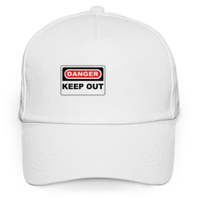 Кепка бейсболка Danger keep out