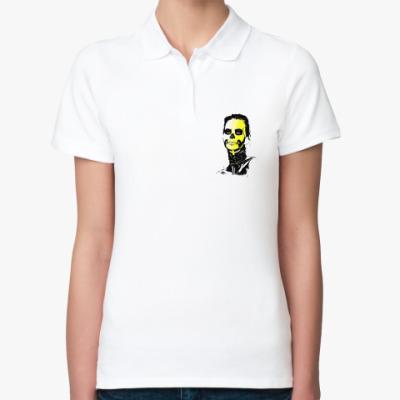 Женская рубашка поло Sugar skull