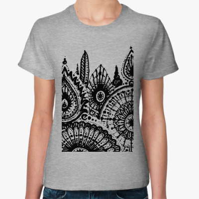 Женская футболка Пряные травы