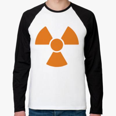 Футболка реглан с длинным рукавом radioactive