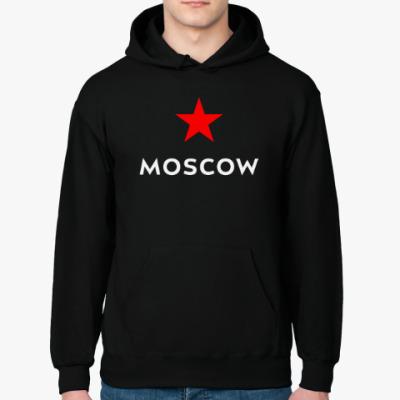 Толстовка худи логотип Москвы