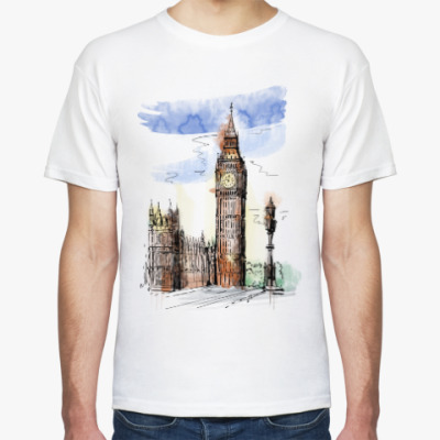 Футболка Биг-Бен -Big Ben-Англия-Лондон