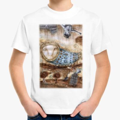"""Детская футболка Детская футболка  """"Птица"""""""