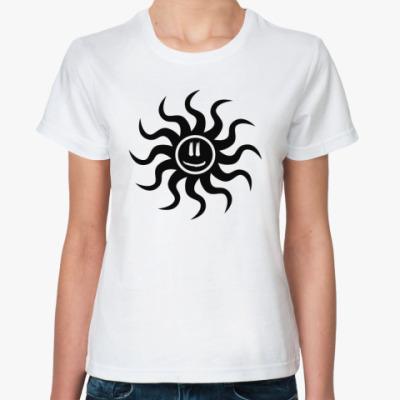 Классическая футболка Black Sun
