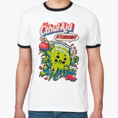 Футболка Ringer-T Ктулху Cthul-Aid