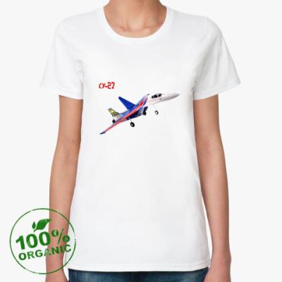 Женская футболка из органик-хлопка СУ-27