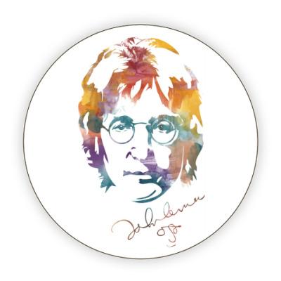 Костер (подставка под кружку) The Beatles - John Lennon