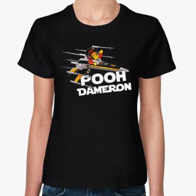 Женская футболка Винни (Звёздные войны)