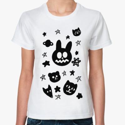 Классическая футболка Зверюшки