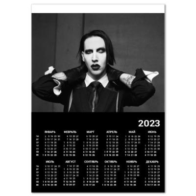 Календарь Marilyn Manson