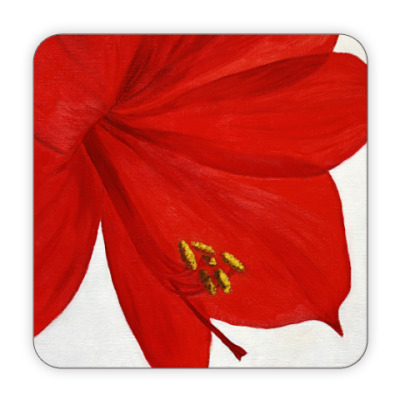 Костер (подставка под кружку) Amaryllis Flower