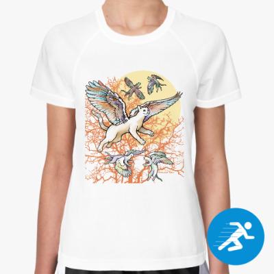 Женская спортивная футболка Найди свою стаю