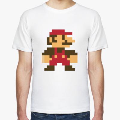 Футболка Pixel Super Mario / Пиксельный Супер Марио / 8 Bit