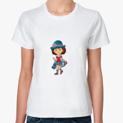 Классическая футболка Волшебный эльф