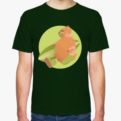 Футболка Animal Fashion: U is for 'Uggs' on merinos sheep
