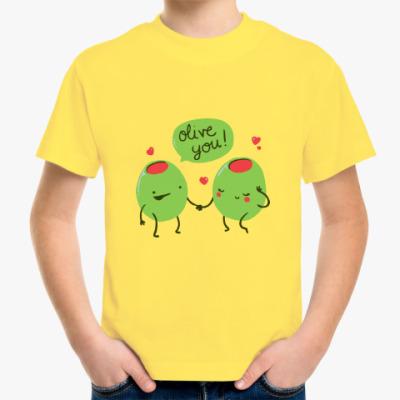 Детская футболка Olive You