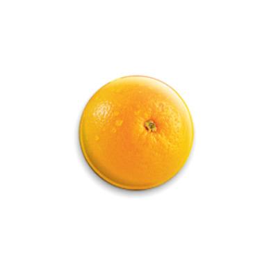 Значок 25мм Апельсинка