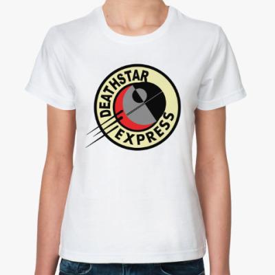 Классическая футболка Звезда смерти (Звёздные войны)