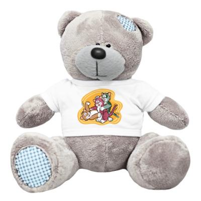 Плюшевый мишка Тедди Кошкины игры