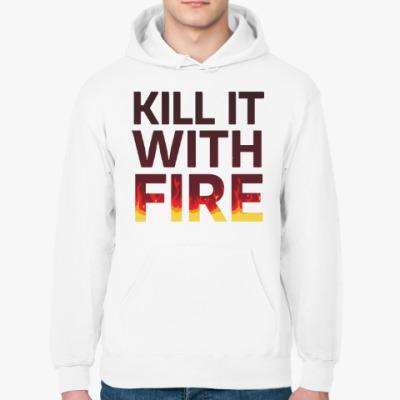 Толстовка худи Kill It with fire