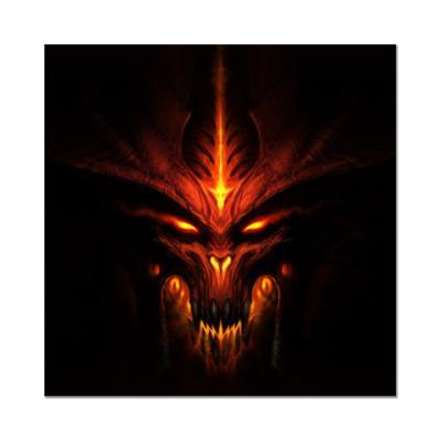 Наклейка (стикер)   Демон