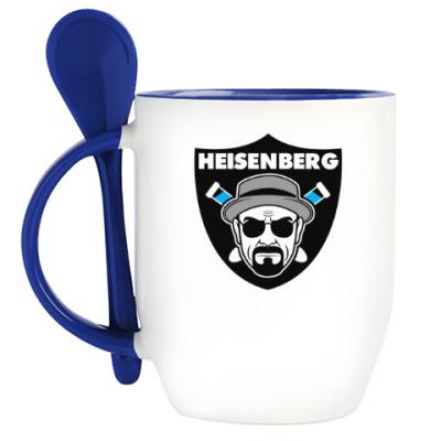 Кружка с ложкой Heisenberg Raiders