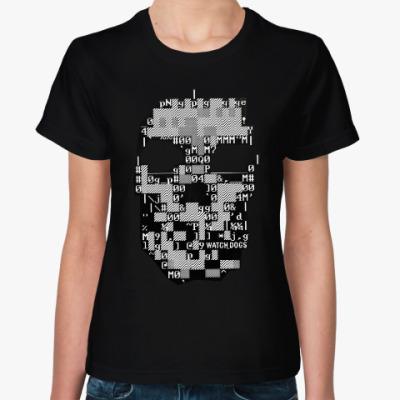 Женская футболка Watch Dogs DedSec