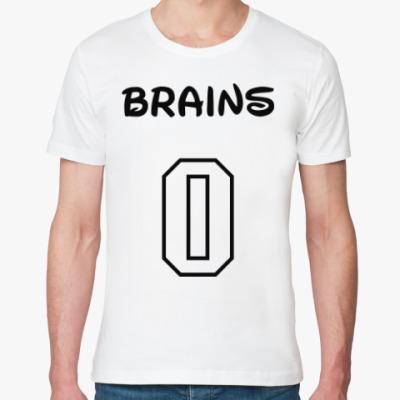 Футболка из органик-хлопка Zero Brains