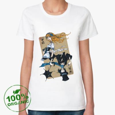 Женская футболка из органик-хлопка  'Love Story'