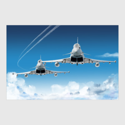 Постер Eurofighter Typhoon