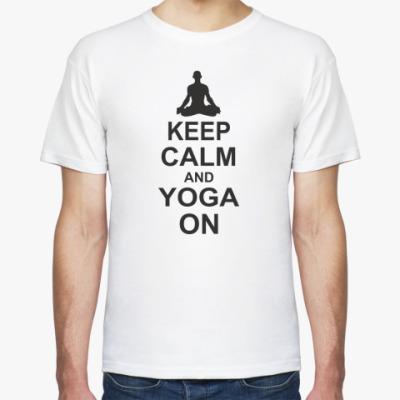 Футболка Yoga on