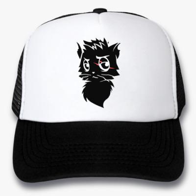 Кепка-тракер Черный кот new