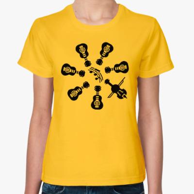 Женская футболка Другая музыка