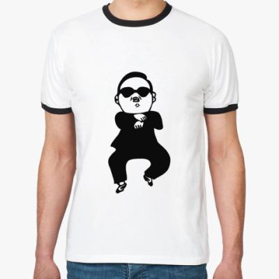 Футболка Ringer-T В стиле гангнам (gangnam)