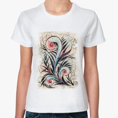Классическая футболка Папоротник