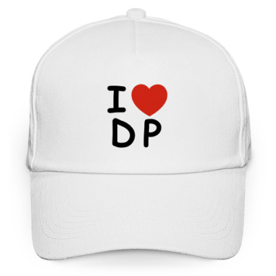 Кепка бейсболка  'I love DP'