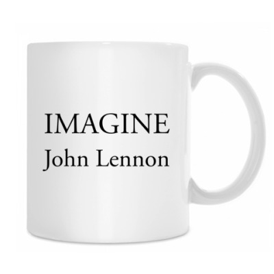 Imagine John Lennon кружка