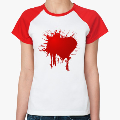 Женская футболка реглан Splash