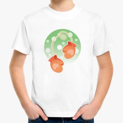 Детская футболка Варежка