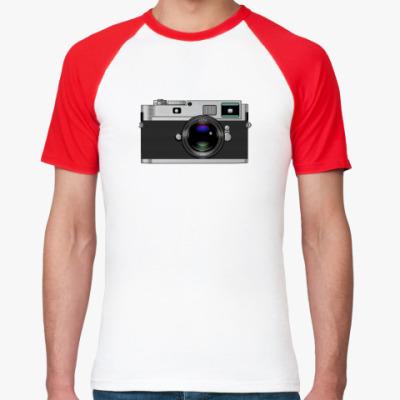Футболка реглан Photo camera