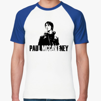 Футболка реглан Paul Mccartney