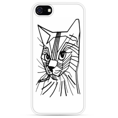 Чехол для iPhone Abstract Cat