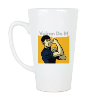 Чашка Латте Vulcan do it!