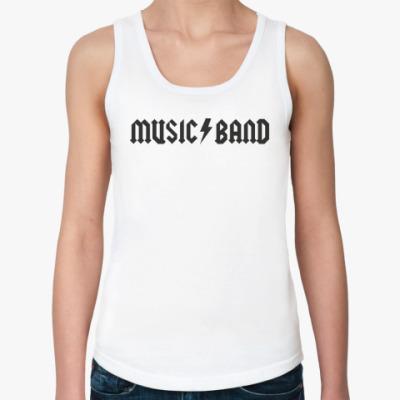 Женская майка Music Band