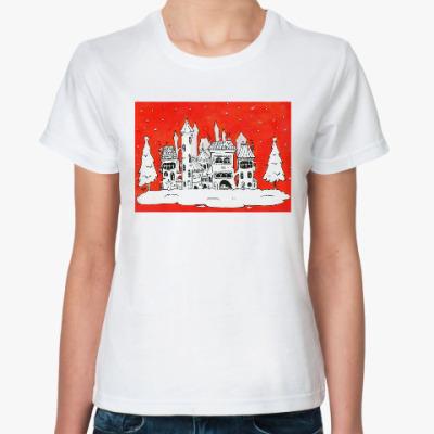 Классическая футболка Рождественское настроение